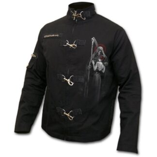 dead kiss svart østgotisk jakke D076M652