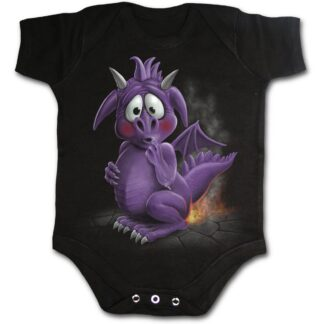 dragon relief svart body til baby F017K002