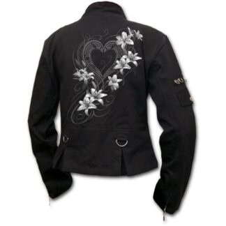 pure of heart svart østgotisk jakke til dame F029G401