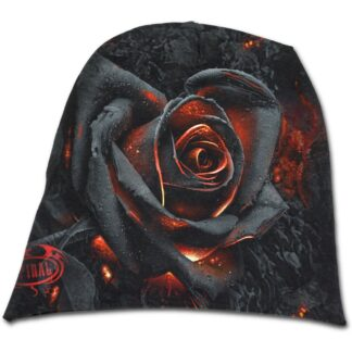 burnt rose tynn lue i bomull K048A801