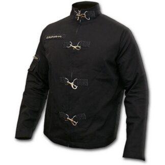 gothic rock svart østgotisk jakke P002M652