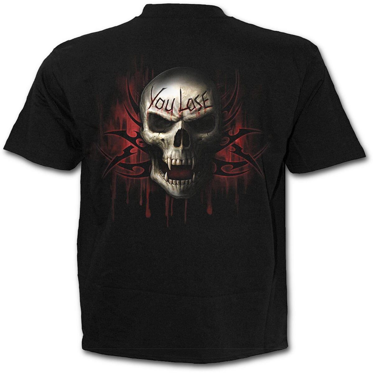 game over svart t-skjorte til barn T026K101