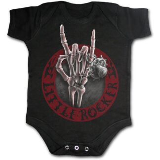 little rocker svart body til baby T040K002