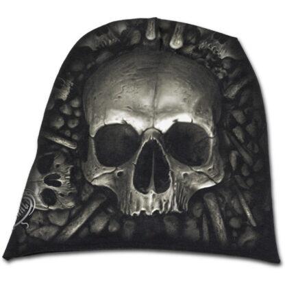 catacomb svart tynn lue i bomull T111A801