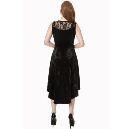 goth keeper kjole med snøring DR5165