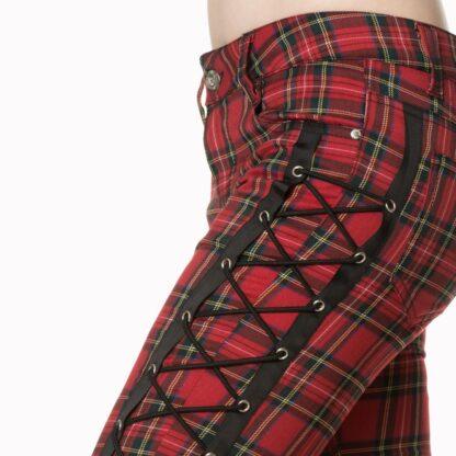 boldy beautiful tartin bukser med snøring TR4075