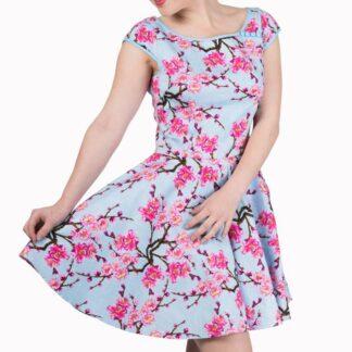 last dance blomstrete kjole VS16DR5097