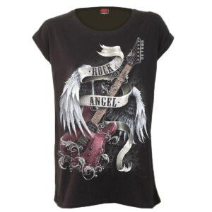 rock angel løstsittende dame t-skjorte T091F754