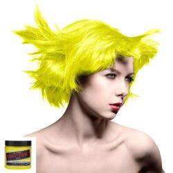 manic panic high voltage gul uv hårfarge 118 ml electric banana classic model 36985