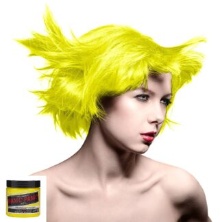 manic panic high voltage gul uv hårfarge 118 ml electric banana classic model 36985