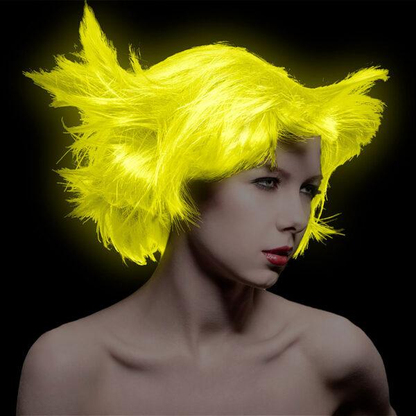 manic panic classic high voltage gul uv hårfarge 118ml model uv 36985