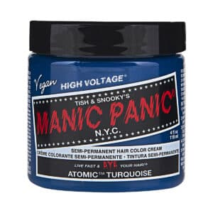 manic panic classic high voltage turkis hårfarge 118ml atomic turquoise pot 43696