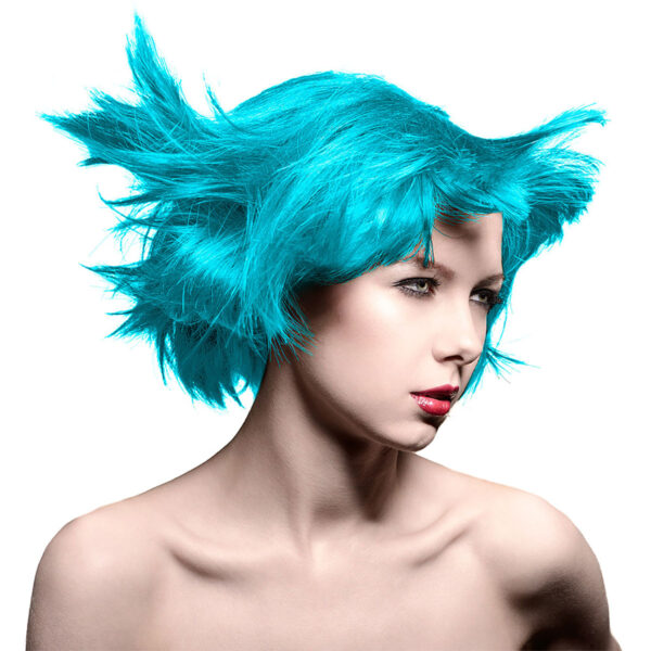 manic panic classic high voltage turkis hårfarge 118ml atomic turquoise model 43696