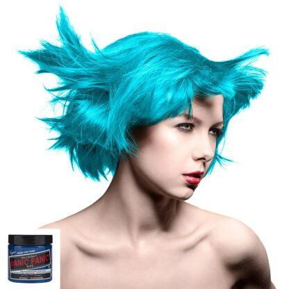 manic panic high voltage turkis hårfarge 118 ml atomic turquoise classic model 43696
