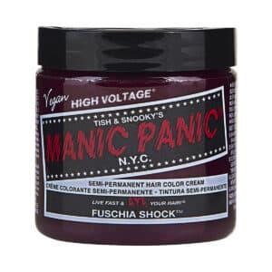 manic panic classic high voltage rosa hårfarge 118ml fuschia shock pot 5028
