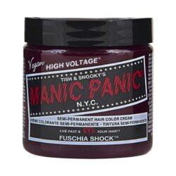 manic panic high voltage rosa hårfarge 118 ml fuschia shock classic pot 5028