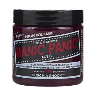 manic panic high voltage rosa hårfarge 118 ml fuschia shock classic pot 5028