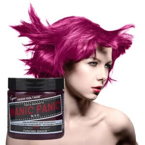 manic panic classic high voltage rosa hårfarge 118ml fuschia shock model pot 5028