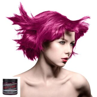 manic panic high voltage rosa hårfarge 118 ml fuschia shock classic model 5028