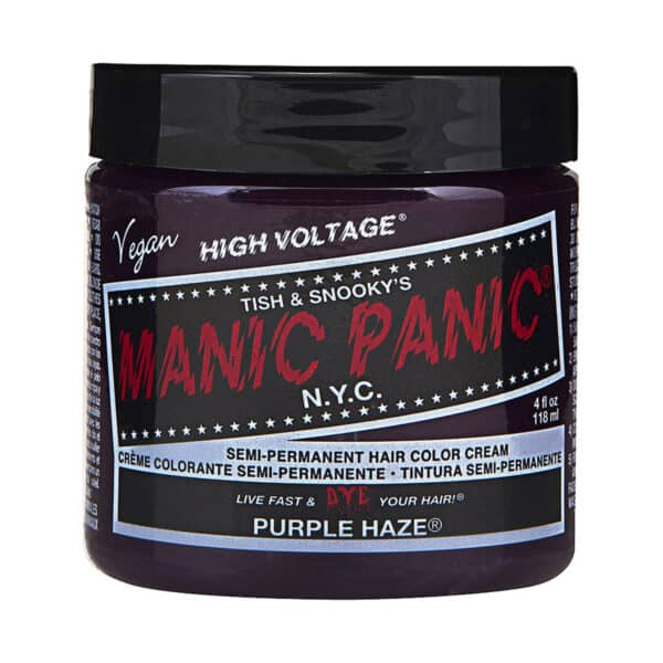 manic panic classic high voltage lilla hårfarge 118ml purple haze pot 54500
