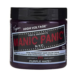 manic panic high voltage lilla hårfarge 118 ml purple haze classic pot 54500