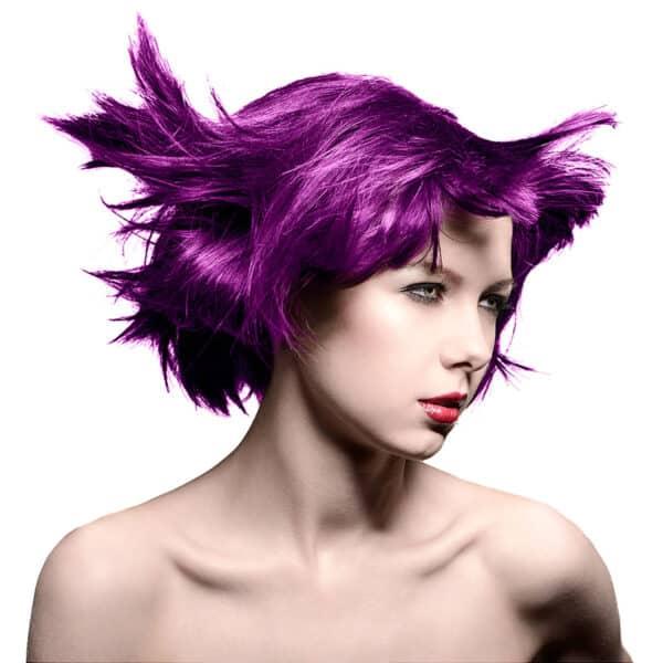 manic panic classic high voltage lilla hårfarge 118ml purple haze model 54500