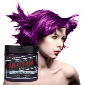 manic panic classic high voltage lilla hårfarge 118ml purple haze model pot 54500