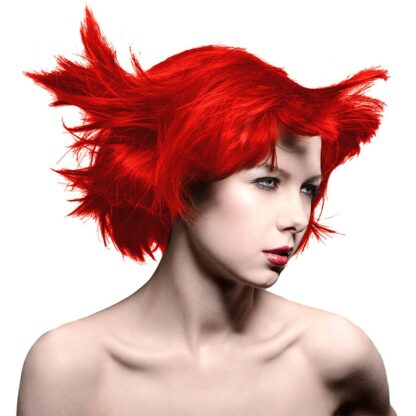 manic panic high voltage rød hårfarge 118 ml pillarbox red classic model 54504