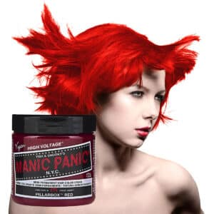 manic panic classic high voltage rød hårfarge 118ml pillarbox red model pot 54504