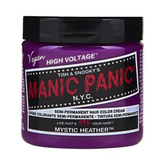 manic panic high voltage rosa hårfarge 118 ml mystic heather classic pot 62939