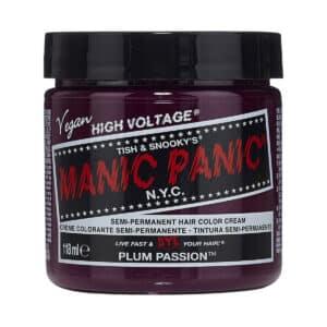 manic panic classic high voltage lilla hårfarge 118ml plum passion pot 7040