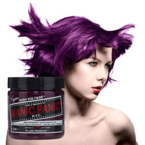 manic panic classic high voltage lilla hårfarge 118ml plum passion model pot 7040