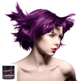 manic panic high voltage lilla hårfarge 118 ml plum passion classic model 7040