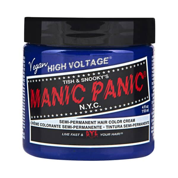 manic panic classic high voltage blå hårfarge 118ml after midnight pot 70417