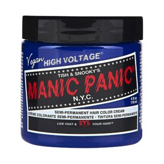 manic panic high voltage blå hårfarge 118 ml after midnight classic pot 70417