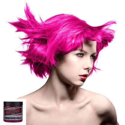 manic panic high voltage rosa uv hårfarge 118 ml hot hot pink classic model 70424