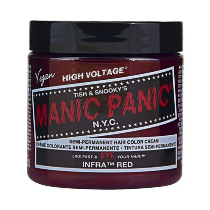 manic panic high voltage rød hårfarge 118 ml infra red classic pot 70425