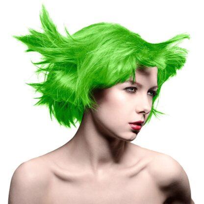 manic panic high voltage grønn uv hårfarge 118 ml electric lizard classic model 70427