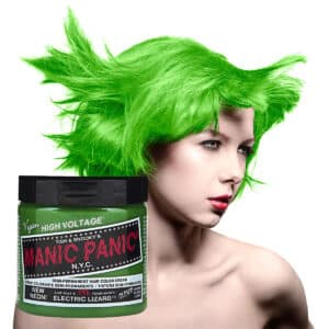 manic panic classic high voltage grønn uv hårfarge 118ml electric lizard model pot 70427