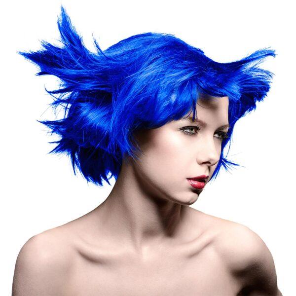 manic panic classic high voltage blå hårfarge 118ml shocking blue model 70431