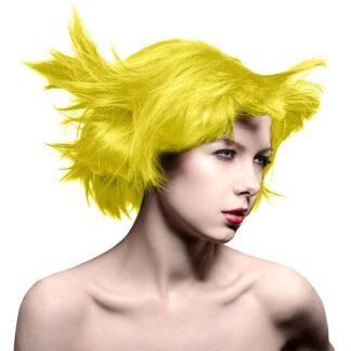 manic panic high voltage gul hårfarge 118ml sunshine sunshine classic model 70433
