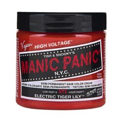manic panic high voltage oransje hårfarge 118 ml electric tiger lily classic pot 70434