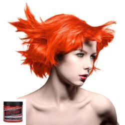 manic panic high voltage oransje hårfarge 118 ml electric tiger lily classic model 70434