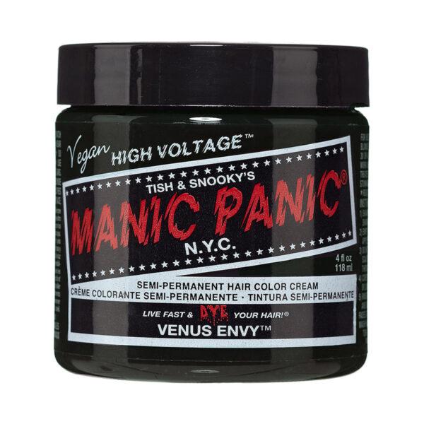 manic panic classic high voltage grønn hårfarge 118ml venus envy pot 70437