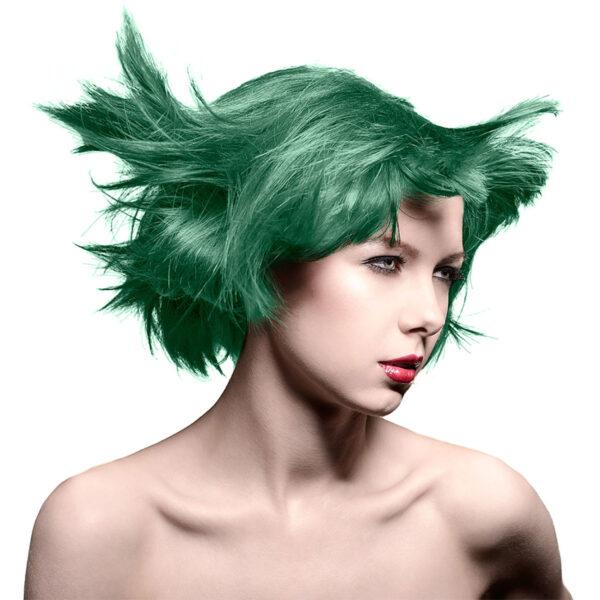 manic panic classic high voltage grønn hårfarge 118ml venus envy model 70437