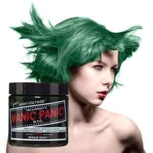 manic panic classic high voltage grønn hårfarge 118ml venus envy model pot 70437