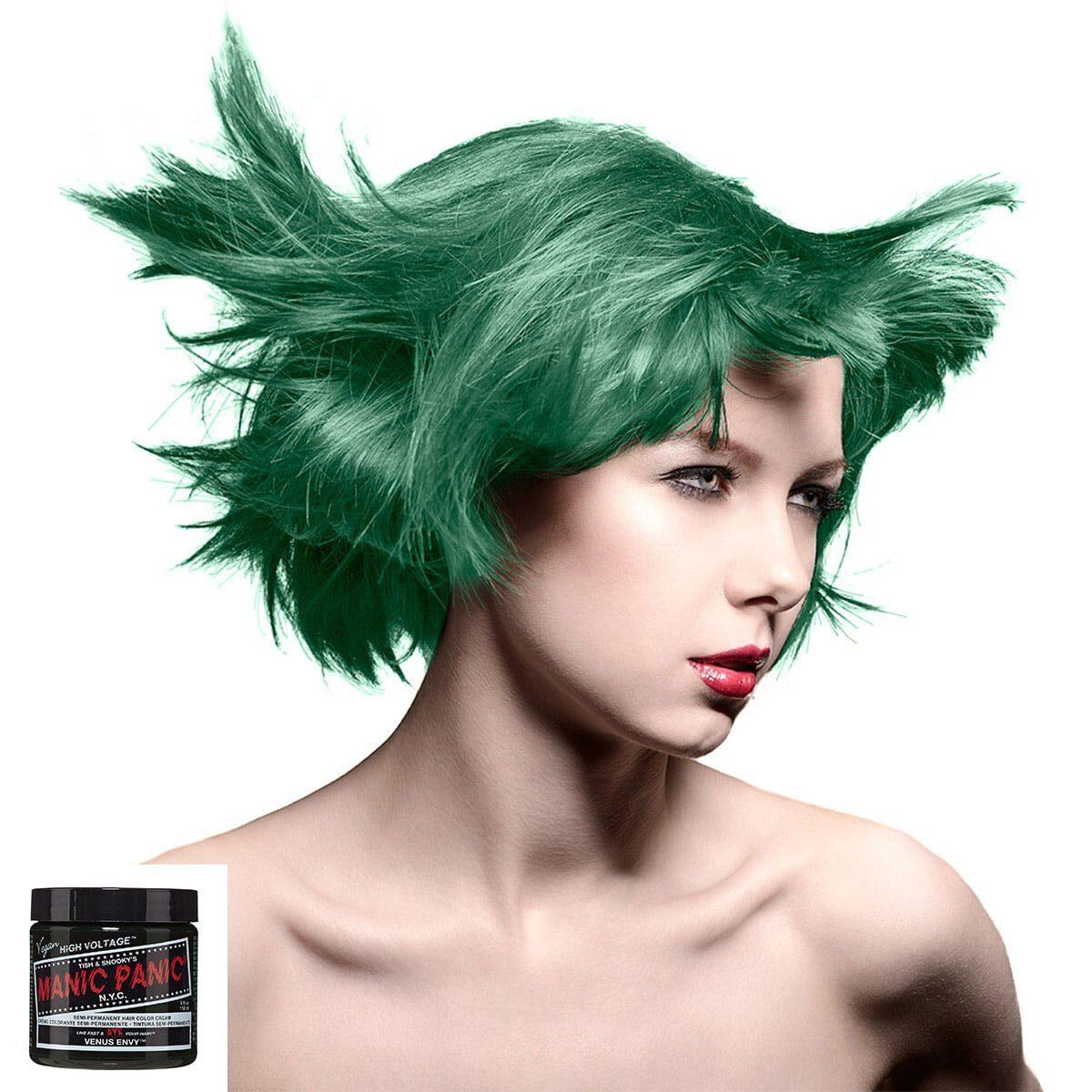manic panic high voltage grønn harfarge 118 ml venus envy classic model 70437