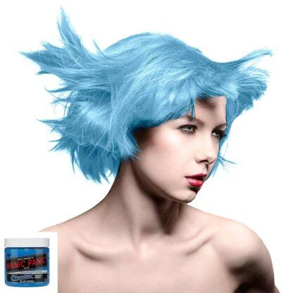 manic panic creamtones blå pastel hårfarge 118 ml blue angel model 70487