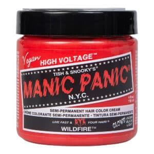 manic panic classic high voltage rød uv hårfarge 118ml wildfire pot 8001