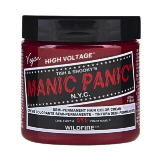 manic panic high voltage rød uv hårfarge 118 ml wildfire classic pot 8001